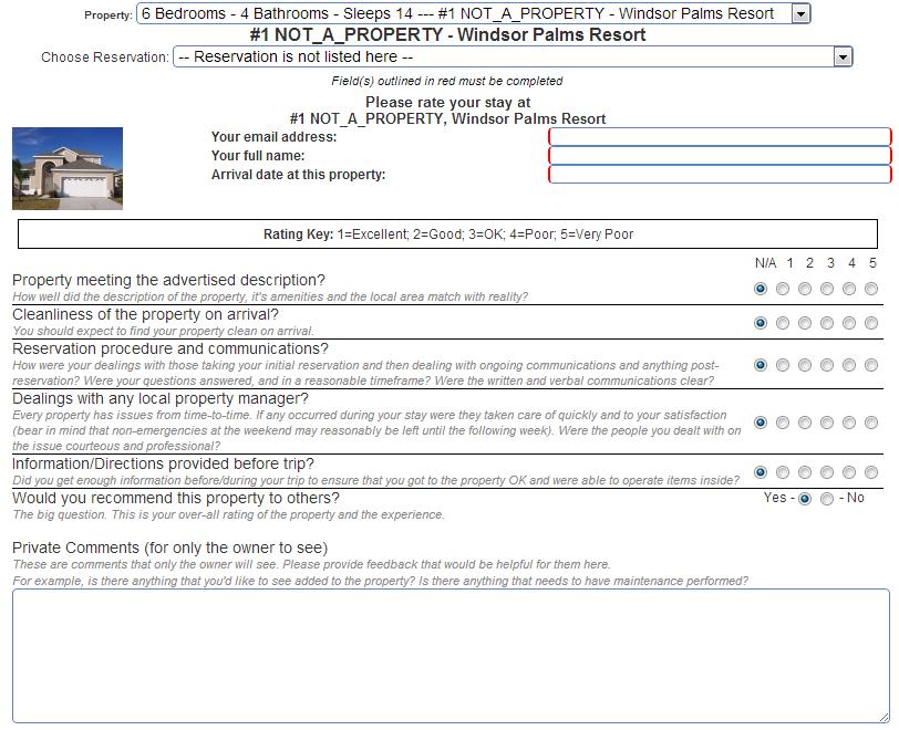 Simple Website Form Integration | Vacation Rental Management ...